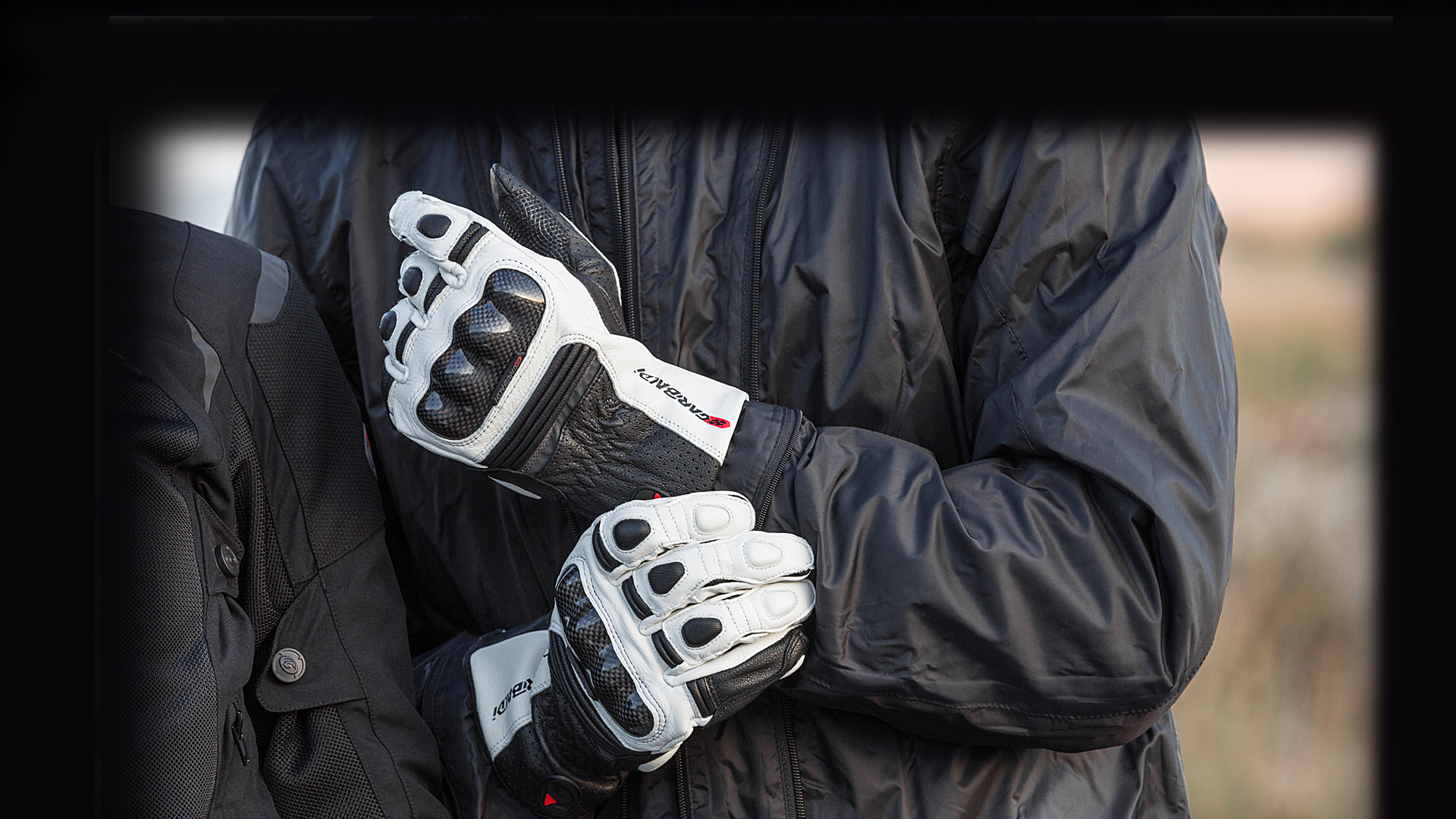 Guantes Moto Scream Blanco