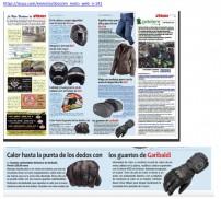 En Moto Guantes Calefactables Garibaldi Sottozero