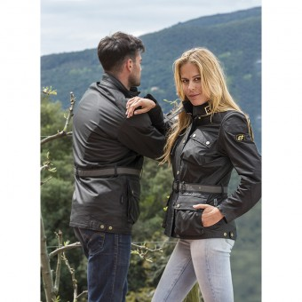 Motorbike jacket for women and men waterproof and breathable Heritage