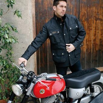 Chaqueta de Moto Clasica Original con Moto