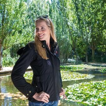 Jaqueta de Moto de Dona Impermeable i Transpirable amb Membrana Zliner Fox-t Lady Negra Model