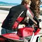 Jaqueta de Moto Impermeable i Transpirable Overland Vermella Esquena Model