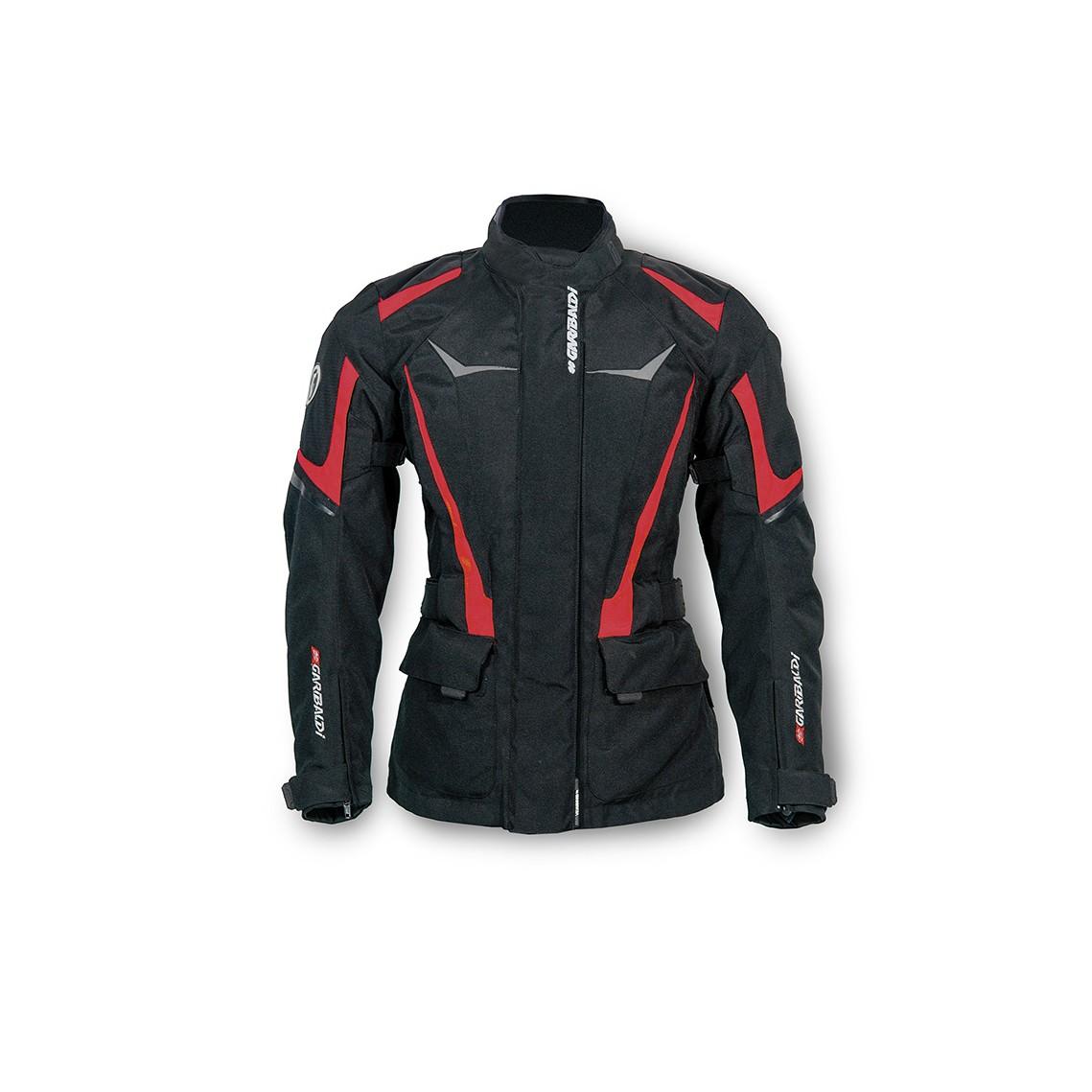 7c9f3e1481b ... Chaqueta de Moto Invierno para Mujer Impermeable y Transpirable Curve  Lady Roja