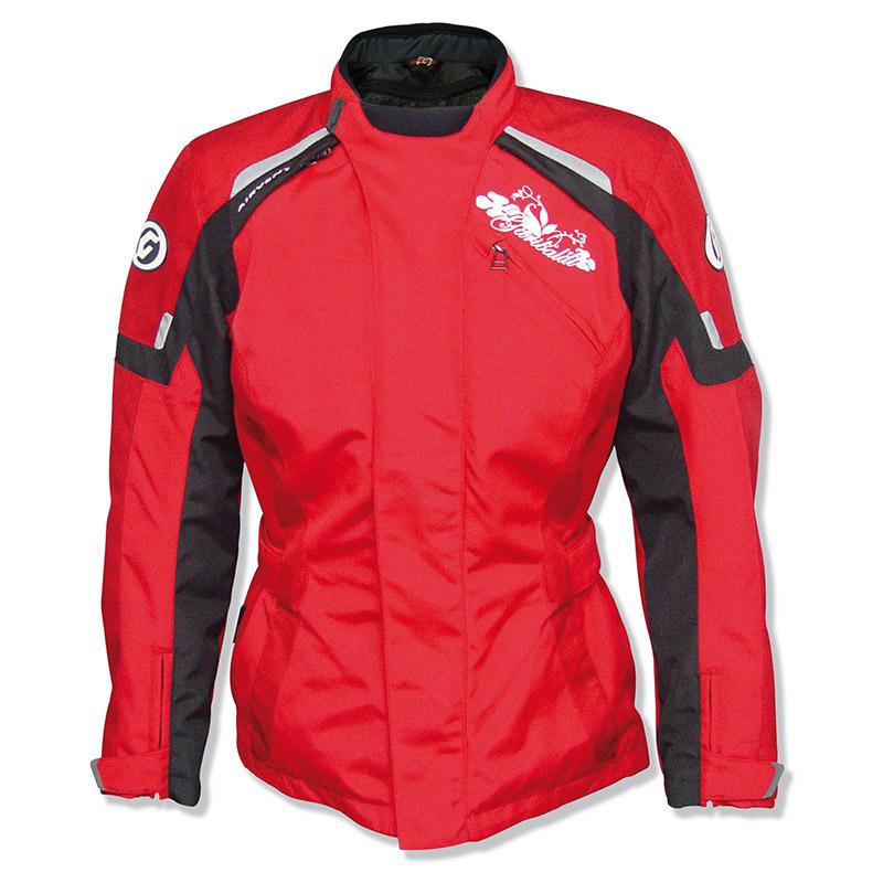 f6136d8289a Chaquetas Moto para Mujer con Cynix y Reissa Zliner Princess Lady rojo. zoom
