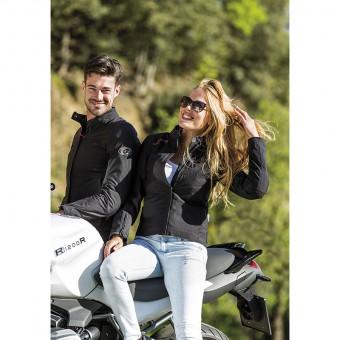 Giacca da Moto da Uomo e Donna per l´inverno Impermeabile Bomber