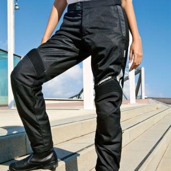 Pantalones Femeninos Ventilados de Moto para el Verano con Rejilla Thyphoon Cool