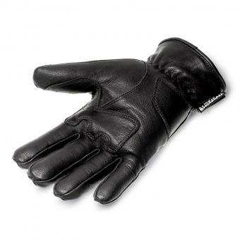 Motorbike Gloves for Winter and City Campus Black Palm