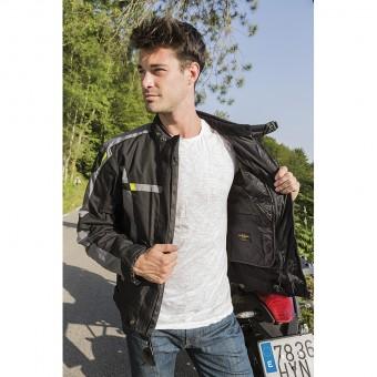 Motorbike Winter Jacket with Membrane Zliner Hacker