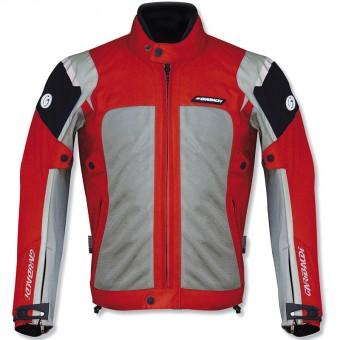 chaqueta ventilada rejilla verano Tornado roja