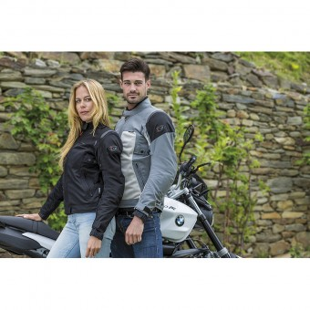 Motorcycle Summer Jacket with Waterproof Membrane Tornado Pro for Men and Women