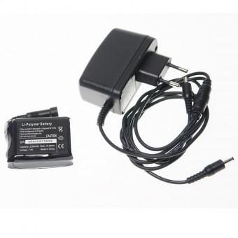 Cargador Baterías Guantes Moto Calefactables Tcs