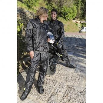 Conjunto de Chaqueta y Pantalón de Lluvia para Moto