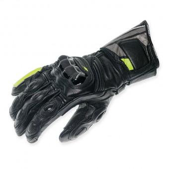 Guantes de Moto Racing con Kevlar y Costuras Externas Nexus Pro flúor