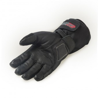 Motorbike Gloves for Touring Enduro with Primaloft Insulation Palm