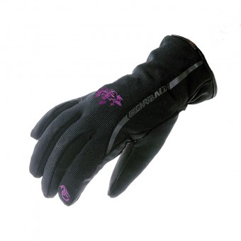 Motorbike Urban Gloves for Winter with Warmal Sandy Fuchsia