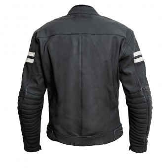 Vintage Motorbike Leather Jacket Moka Racer
