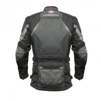 Motorcycle 3 layer Enduro Jacket Tourland Back