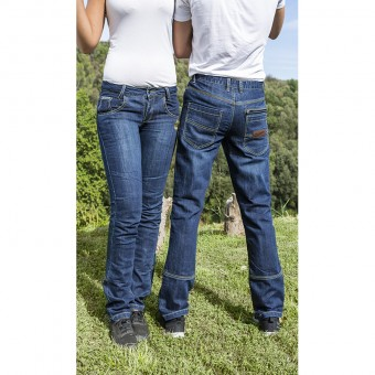 Motorcycle Denim for Men and Women with Kevlar and D3O West Coast