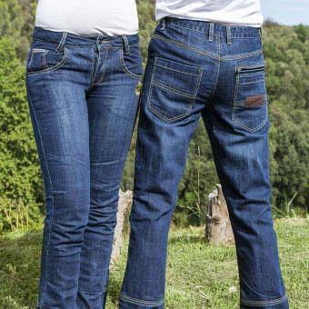 Pantaloni Jeans Vintage da Moto con Kevlar e D3O West Coast