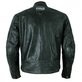 Motorcycle Vintage Leather Jacket Bullrider Black