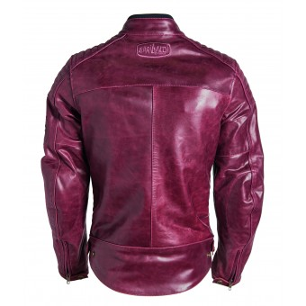 Motorcycle Winter Jacket for Women Garibaldi Bullrider Oxblood