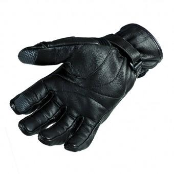 Motorcycle Vintage Gloves Garibaldi Smoke Winter