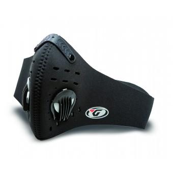 Mascarilla Moto Garibaldi Neo Carbon con Filtros de Carbón Activo